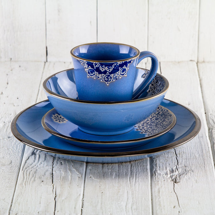 Azul Flower Soup Bowl