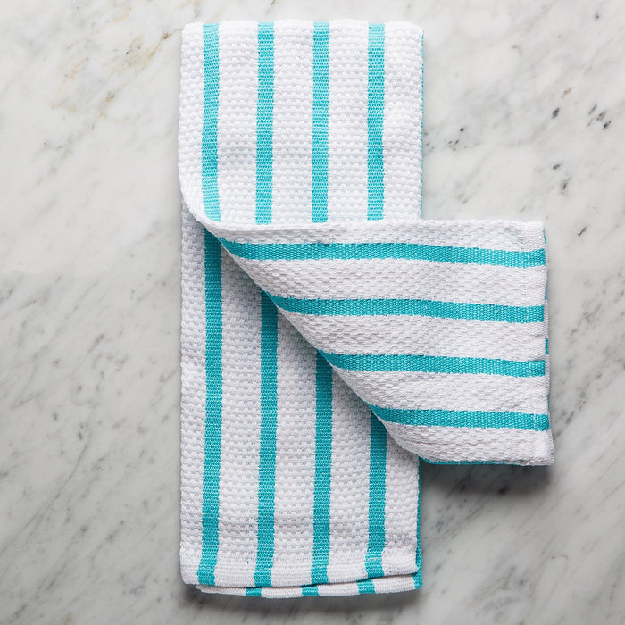 Bali Blue Cotton Kitchen Towel