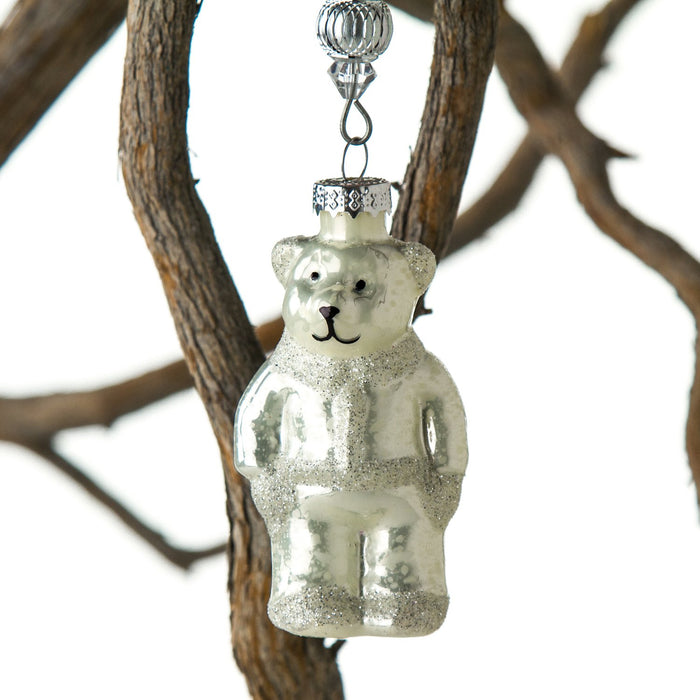 Bear Glass Ornament