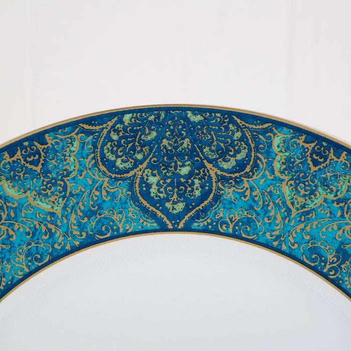 Beautifully Detailed Moroccan Pattern Stoneware Presentation Plate