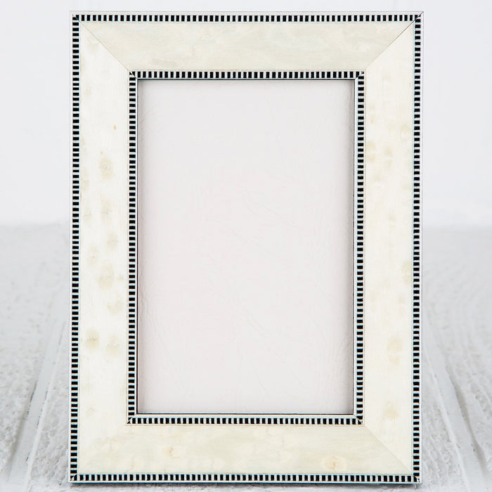 "Bianco Picture Frame (4x6"")"