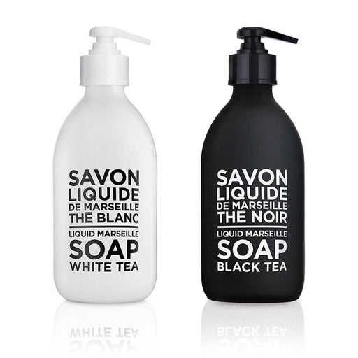 Black and White Tea Liquid Marseille Soap 16.9oz