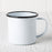 Black Enamelware Coffee Mug (12 oz.)
