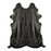 Black European Cowhide Rug