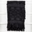 Black Hammam Hand Towel