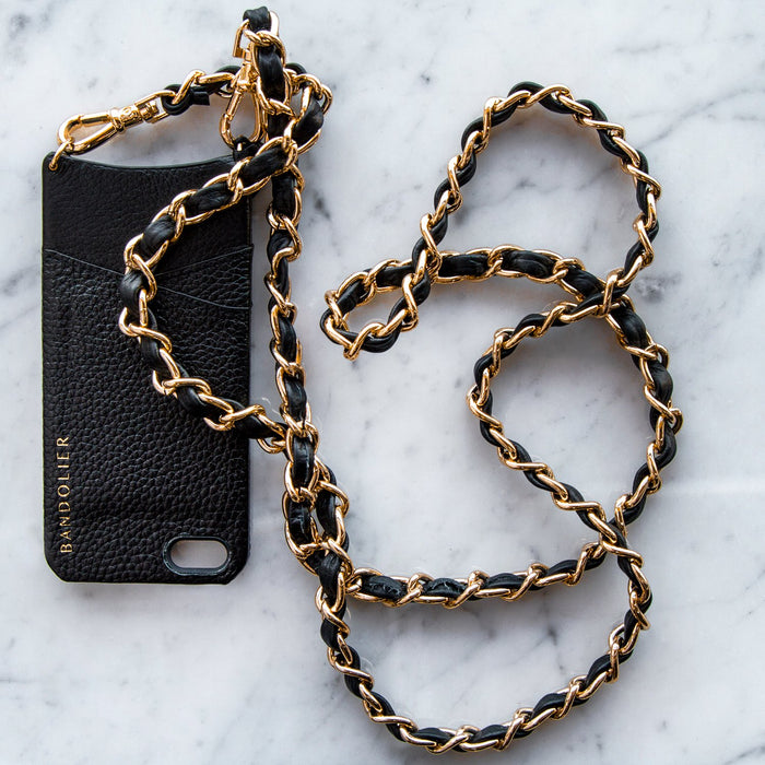 Black Iphone 5 / 5S Libby Case