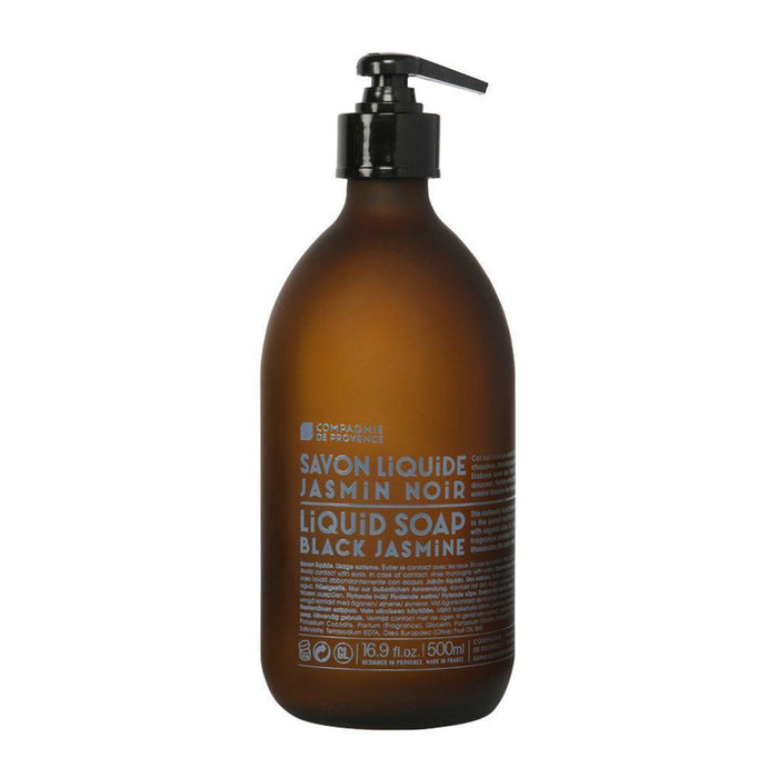 Black Jasmine Liquid Marseille Soap 16.9oz.