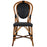 Black Mediterranean Bistro Chair (B)
