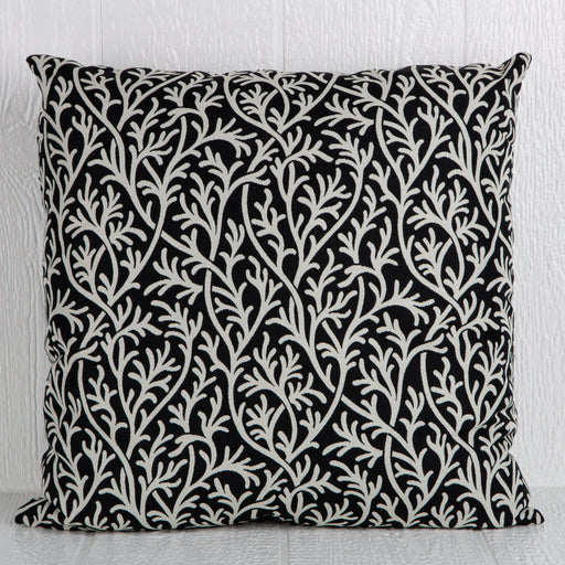 "Black O'Corrales Pillow (24"" x 24"")"