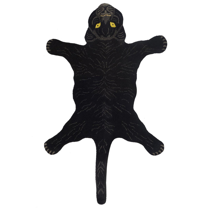 Black Panther Animal Rug (Large)