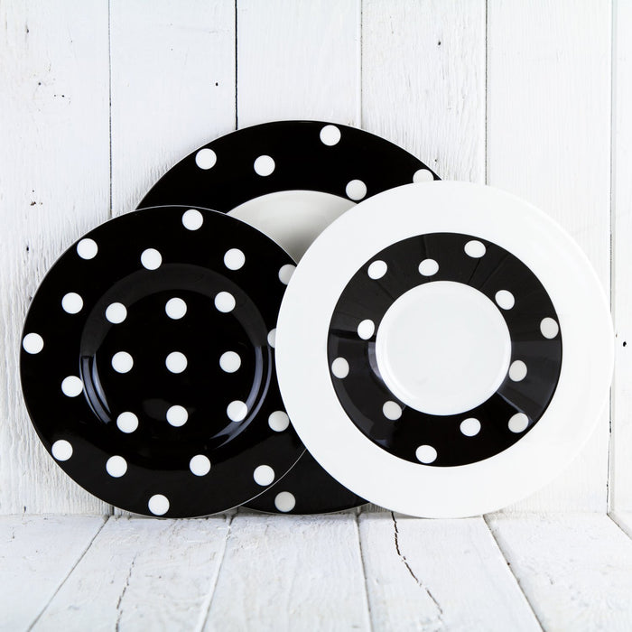 Black Polka Dot Bowl
