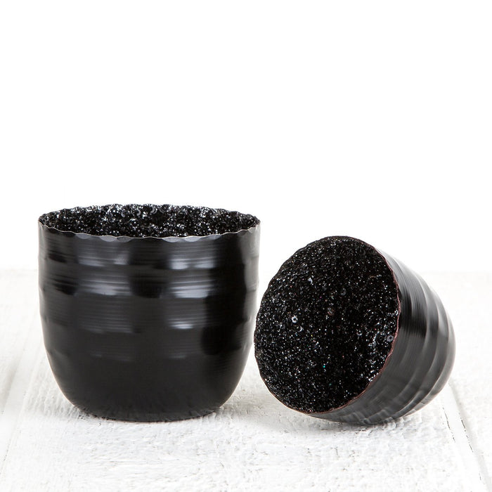 Black Sequin Votives