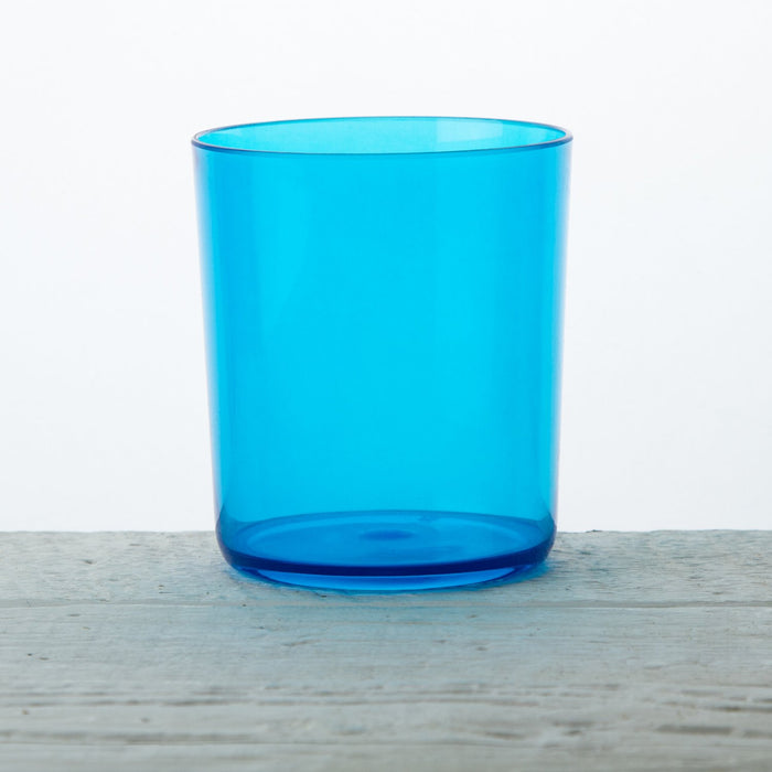 Blue Acrylic Festival Water Glass