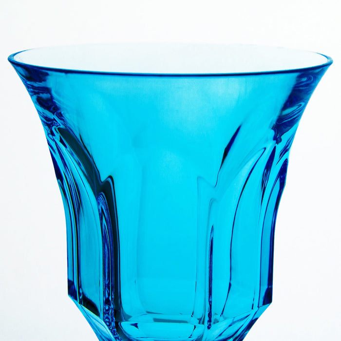 Blue Acrylic Victoria & Albert Water Glass (6oz)