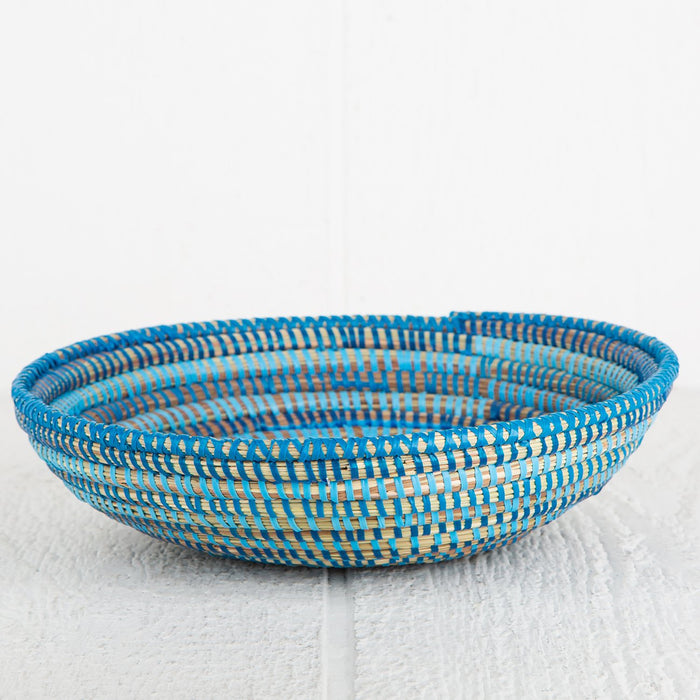 Blue African Bowl - Medium