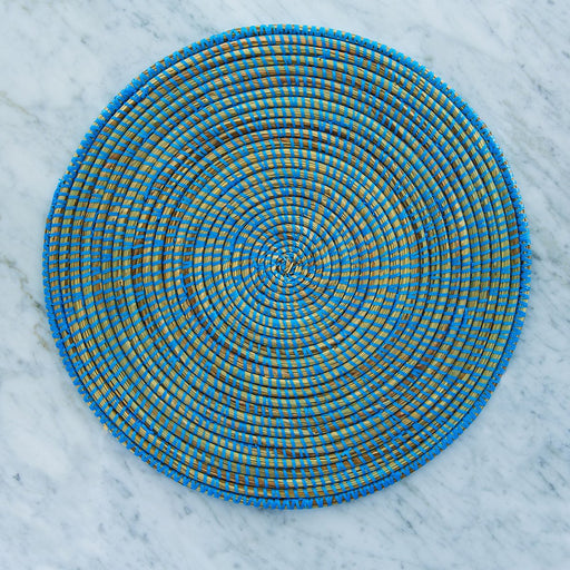 Blue African Woven Placemat