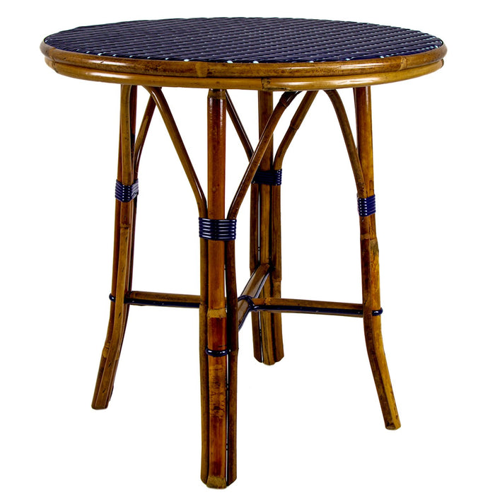 Blue & Azure Mediterranean Bistro Table (2 Seater)