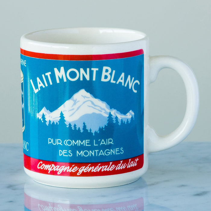 Blue & Red Lait Mont Blanc Coffee Mug