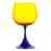 Blue & Yellow Burlesque Nason Moretti Goblet