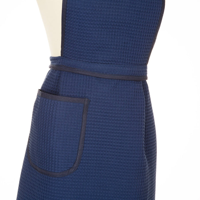 Blue Cotton Apron