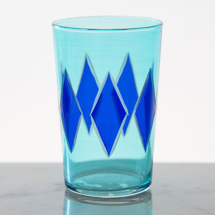 Blue Diamond Moroccan Tea Glass