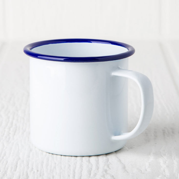 Blue Enamelware Coffee Mug (8 oz.)