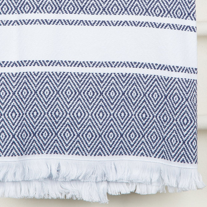 Blue Foutah Towels