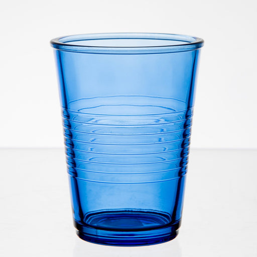 Blue Glass Party Cup