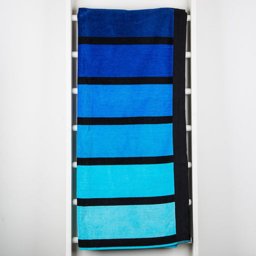 Blue Happy Towel