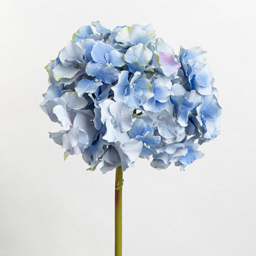 Blue Hortensia Silk Flower