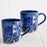 Blue Lisboa Coffee Mugs