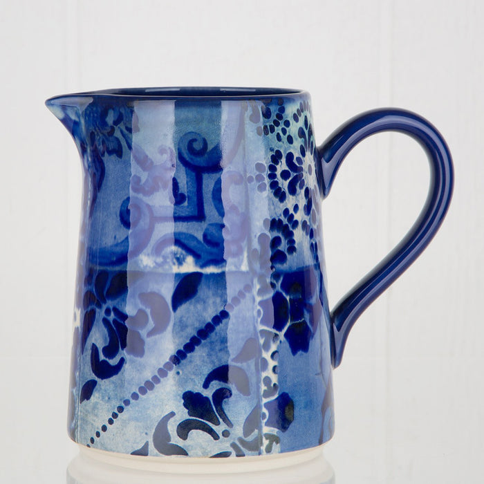 Blue Lisboa Pitcher