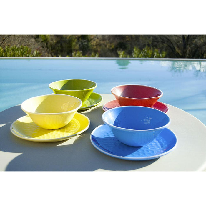 Blue Melamine Soup Bowl