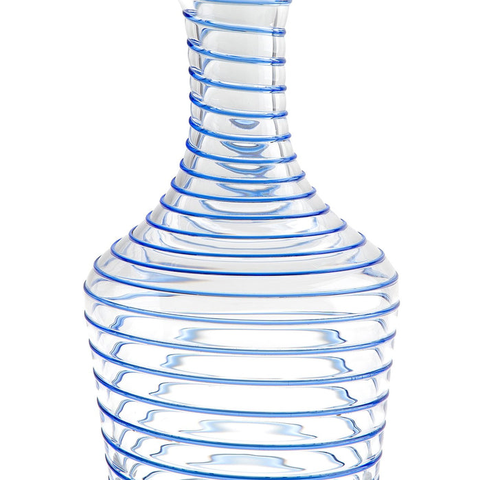 Blue Nason Moretti Twist Pitcher