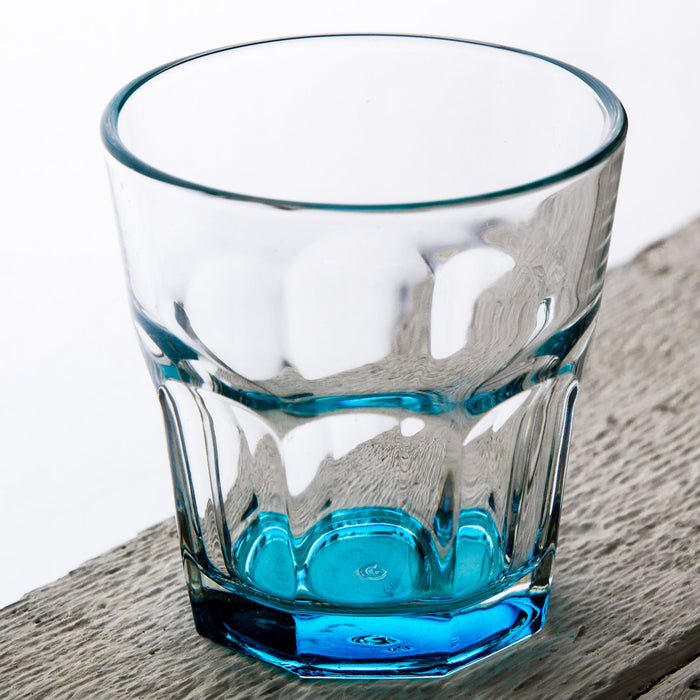 Blue Optical Drinking Cup