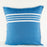 Blue Ornos Pillow Cover