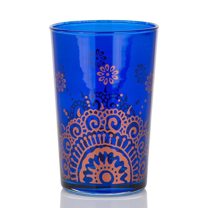 Blue Oujam Moroccan Tea Glass