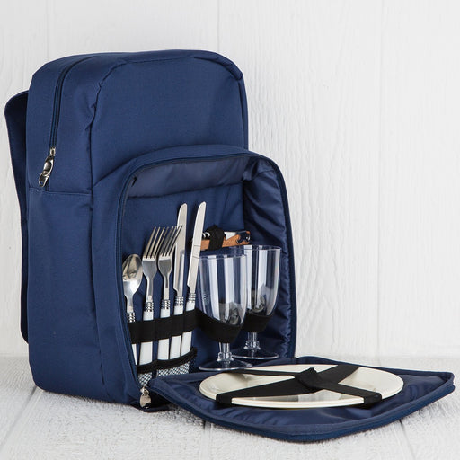 Blue Picnic Backpack (2 person)