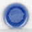 Blue Reactive Salad Plate
