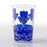 Blue Sahara Moroccan Tea Glass