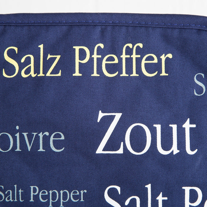 Blue Salt & Pepper Pot Holder
