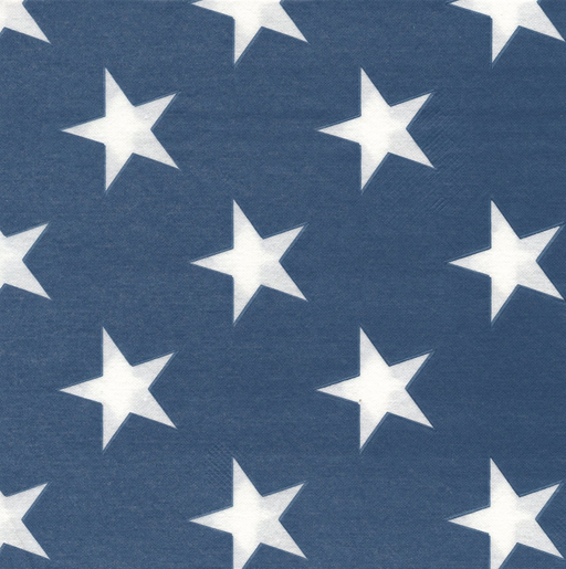"Blue Star Paper Napkins (8"")"