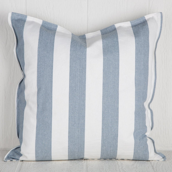 Blue Striped Abbot Pillow