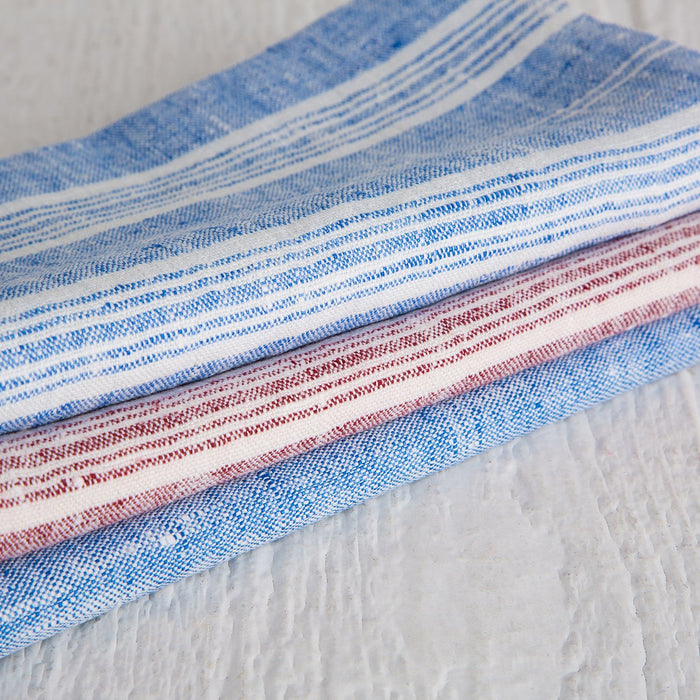 Blue Striped Francesca Napkin