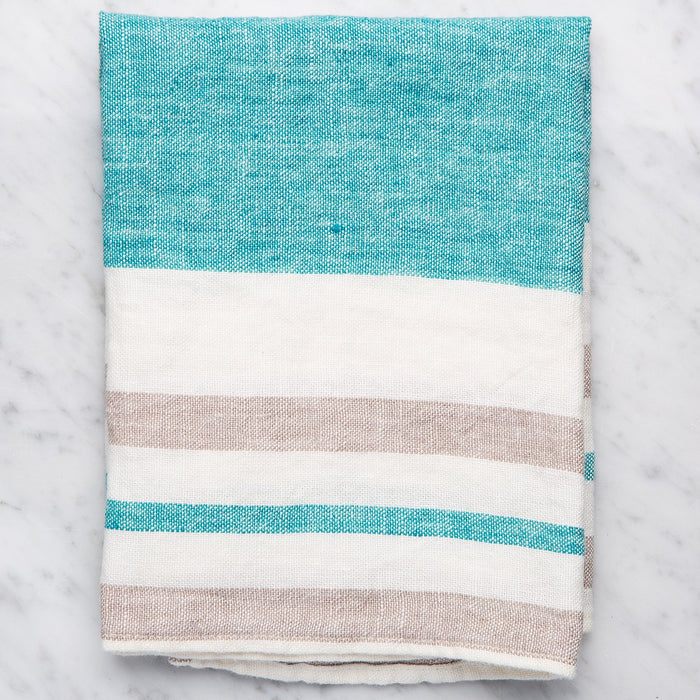 Blue Torchon Tea Towel