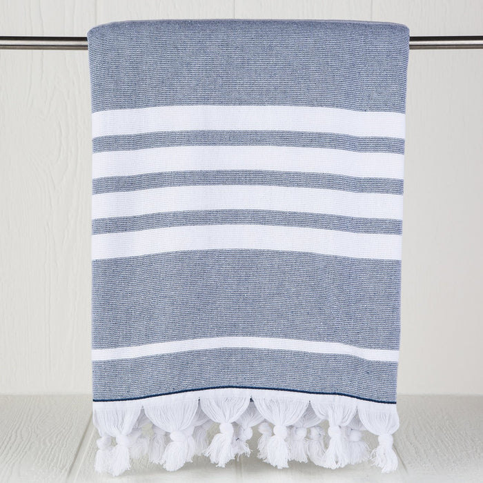 Blue Turkish Ohana Towel