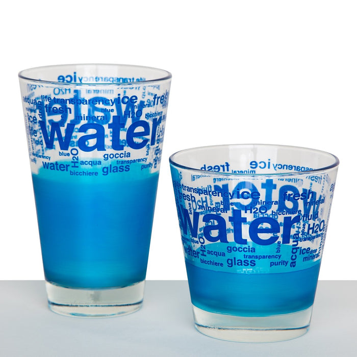 "Blue ""Water"" Tumblers"