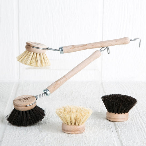 Boar Hair Dishwashing Brushes