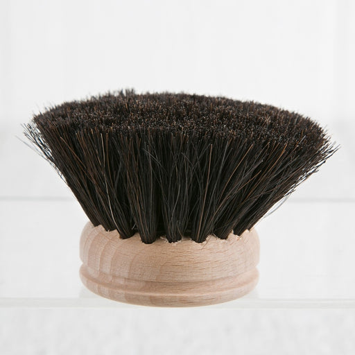Boar Hair Dishwashing Replacement Brush (Black)