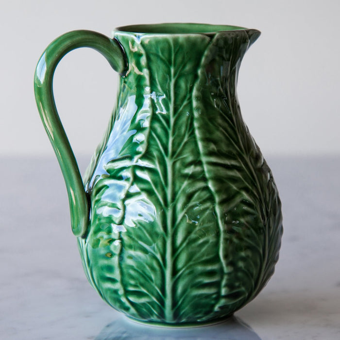 Bordallo Pinheiro Artisan Made Pitcher (20 oz)